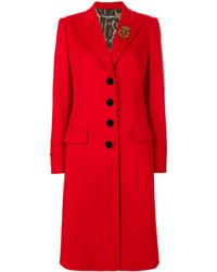 Abrigo Rojo de Dolce & Gabbana
