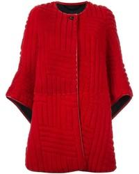 Abrigo rojo de Kenzo