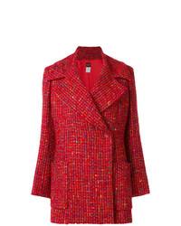Abrigo rojo de Kenzo Vintage