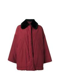 Abrigo rojo de Romeo Gigli Vintage