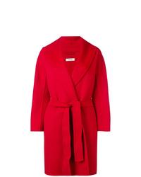 Abrigo rojo de 'S Max Mara