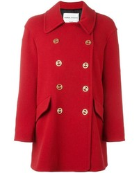 Abrigo rojo de Sonia Rykiel