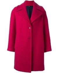 Abrigo rosa de Jil Sander Navy