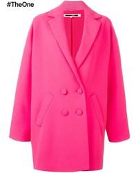 Abrigo rosa de McQ by Alexander McQueen