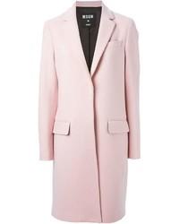 Abrigo rosado de MSGM