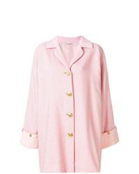 Abrigo rosado de Versace Vintage