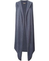 Abrigo sin mangas gris de N.Peal