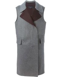 Abrigo sin mangas gris de Sofie D'hoore