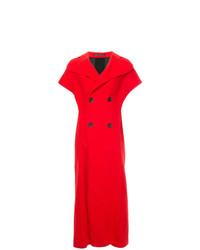 Abrigo sin mangas rojo de Yohji Yamamoto Vintage