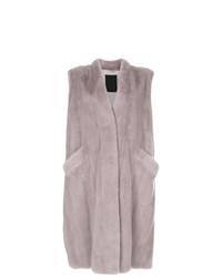 Abrigo sin mangas violeta claro de Liska