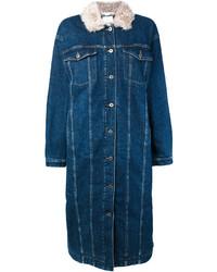 Abrigo Vaquero Azul Marino de Stella McCartney