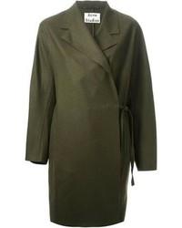 Abrigo verde oliva de Acne Studios