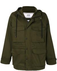 Abrigo verde oliva de AMI Alexandre Mattiussi