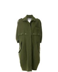 Abrigo verde oliva de Moschino