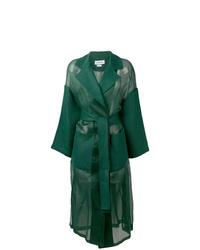 Abrigo verde oscuro de Loewe
