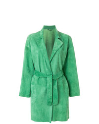 Abrigo Verde de Sylvie Schimmel