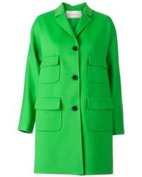 Abrigo verde de Valentino