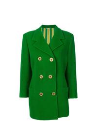 Abrigo Verde de Versace Vintage