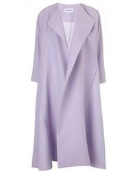 Abrigo violeta claro