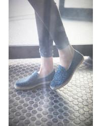 Alpargatas azules