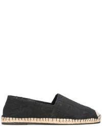 Alpargatas de cuero negras de Valentino Garavani
