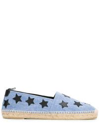Alpargatas de estrellas celestes de Saint Laurent