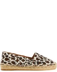 Alpargatas de leopardo en blanco y negro de Stella McCartney