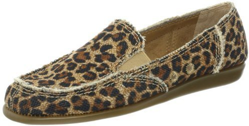Alpargatas de leopardo marrónes de Aerosoles