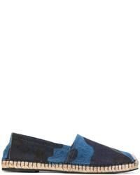 Alpargatas vaqueras azul marino de Valentino Garavani