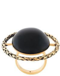 Anillo negro de Saint Laurent