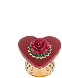 Anillo rojo de Dolce & Gabbana