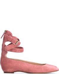 Bailarinas de Ante Rosadas de Valentino