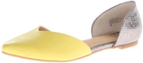 Bailarinas de cuero amarillas de B&C Home Goods