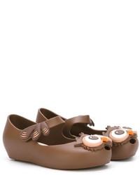 Bailarinas marrónes de Mini Melissa