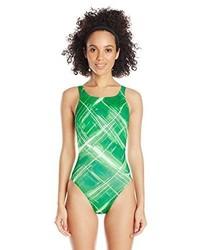 Bañador estampado verde de Speedo