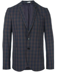 Blazer a Cuadros Azul Marino de Paul Smith