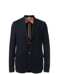 Blazer Azul Marino de Gucci