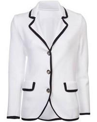 Blazer blanco y negro original 3144399