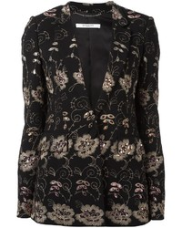 Blazer Bordado Negro de Givenchy
