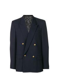 Blazer cruzado azul marino de Givenchy