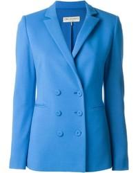 Blazer cruzado azul de Emilio Pucci