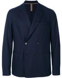 Blazer cruzado de lana azul marino de Eleventy