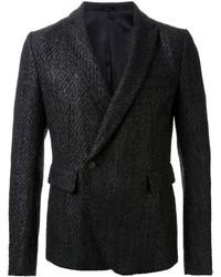 Blazer cruzado de lana negro de Haider Ackermann