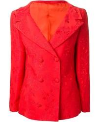 Blazer Cruzado Rojo de Versace
