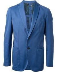 Blazer de Algodón Azul de Christian Lacroix