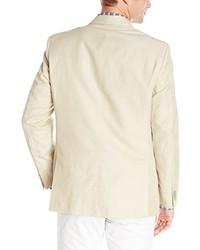 Blazer de algodón en beige de Tommy Hilfiger