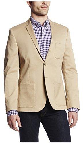 Blazer de algodón marrón claro de Dockers