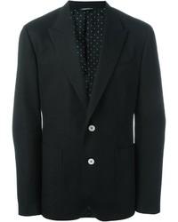 Blazer de Algodón Negro de Dolce & Gabbana