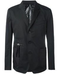 Blazer de Algodón Negro de Givenchy