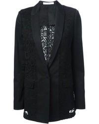 Blazer de Encaje Negro de Givenchy